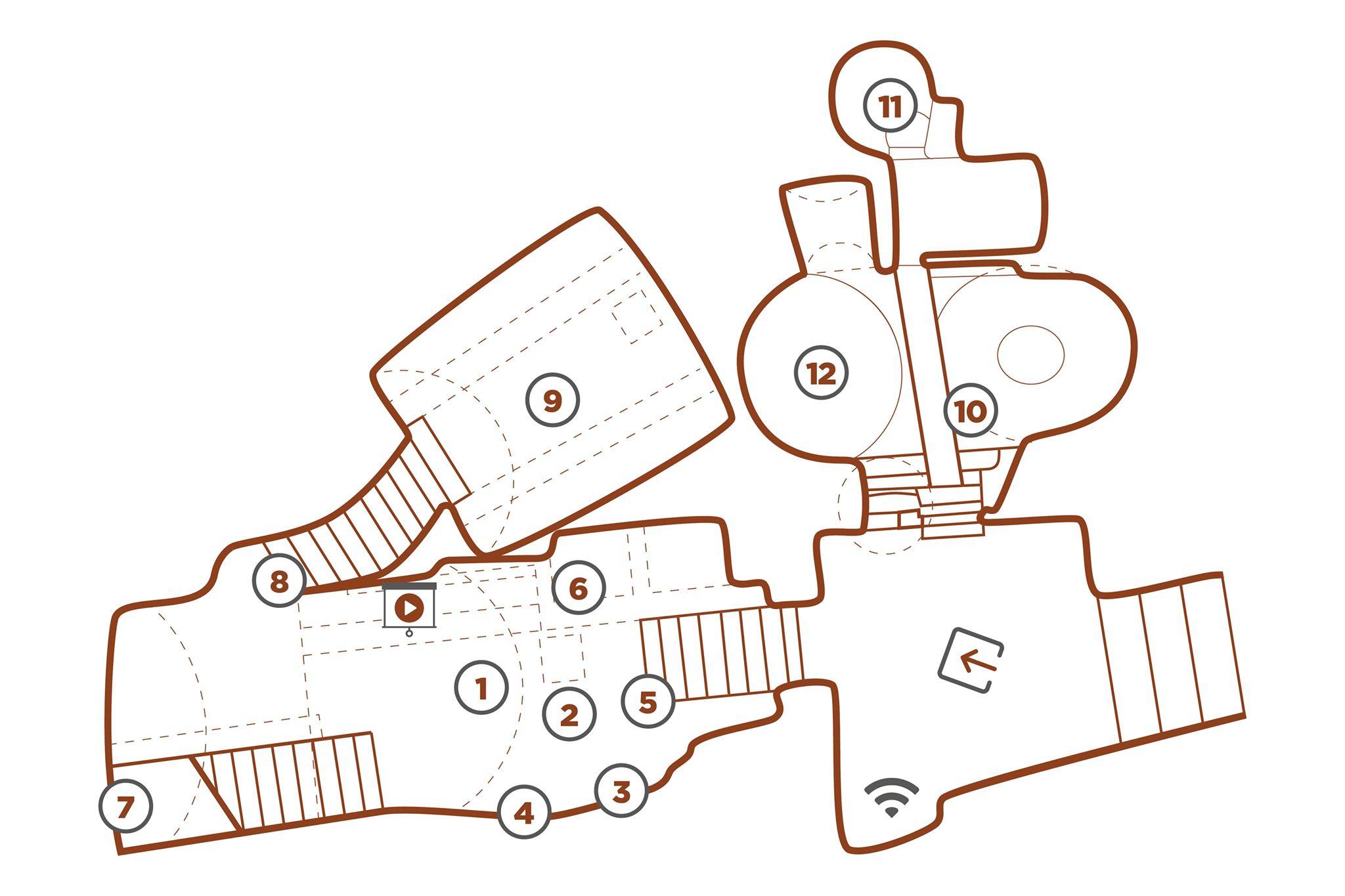 mappa-mudesca-museo-dello-scavo-matera-centro-museale-grotta-mostra-spazio-espositivo-sassi-basilicata
